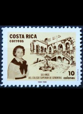 Kosta Rika ScNr 406 MNG(*) E