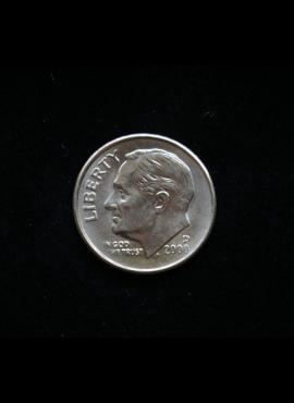 JAV, 10 centų 2000m-D