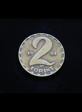 Vengrija, 2 forintai, 1981m