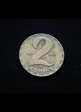 Vengrija, 2 forintai 1980m