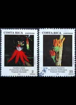 Kosta Rika, pilna serija ScNr 458-459 Used(O) E