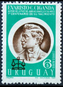 Urugvajus ScNr C359 MNH** E