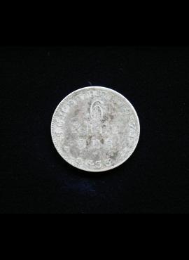 Hasenas-Darmštatas, SIDABRINIAI 6 kreiceriai 1833m