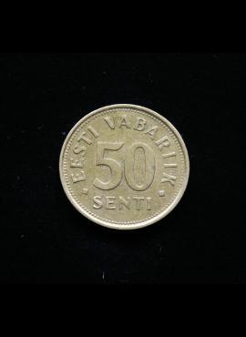 Estija, 50 sentų 1992m