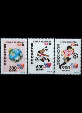Ekvadoras, pilna serija ScNr 1340-1342 MNH** E