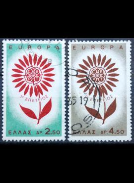 Graikija, pilna serija ScNr 801-802 Used(O)