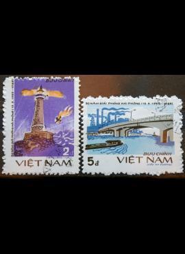 Vietnamas, pilna serija ScNr 1507-1508 Used(O)