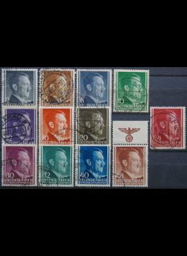 Vokietijos Reichas, Lenkijos okupacija, pilna serija, MiNr 71-82 Used(O)