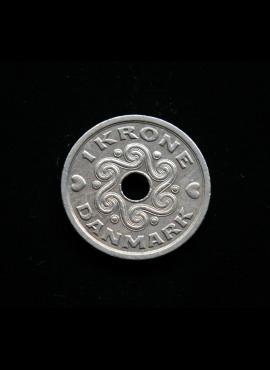 Danija, 1 krona 1993m