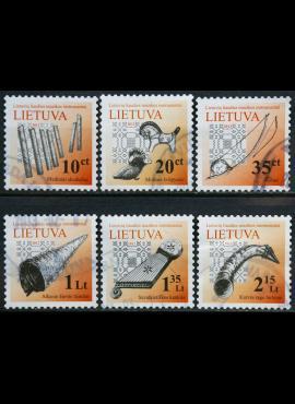 Lietuva, pilna serija MiNr 1087-1092 Used(O) V