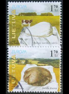 Lietuva, pilna serija MiNr 871-872 Used(O) V