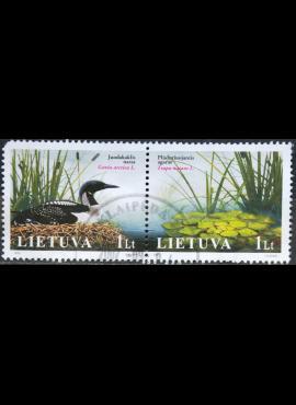 Lietuva, pilna serija MiNr 883-884 Used(O) V