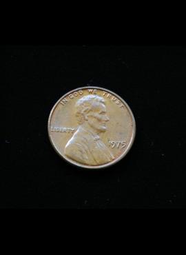 JAV, 1 centas 1975m A