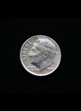 JAV, 10 centų 1998m-P A