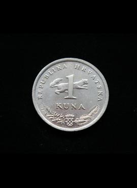 Kroatija, proginė 1 kuna 2004m