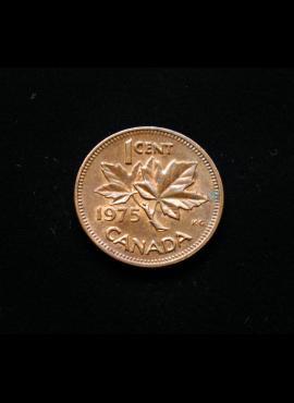 Kanada, 1 centas 1975m