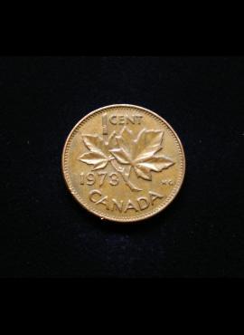 Kanada, 1 centas 1973m