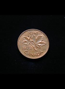 Kanada, 1 centas 1972m