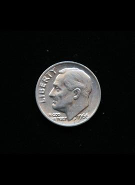 JAV, 10 centų 1966m A