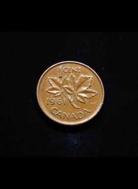 Kanada, 1 centas 1961m