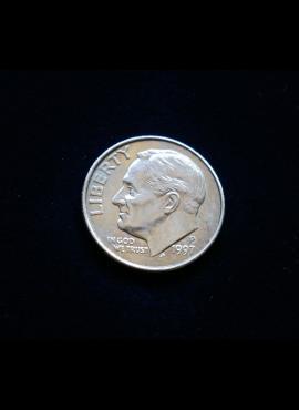 JAV, 10 centų 1997m-P