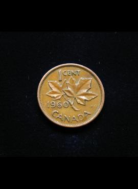 Kanada, 1 centas 1960m