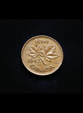 Kanada, 1 centas 1947m*