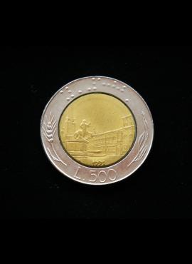 Italija, 500 lirų 1991m