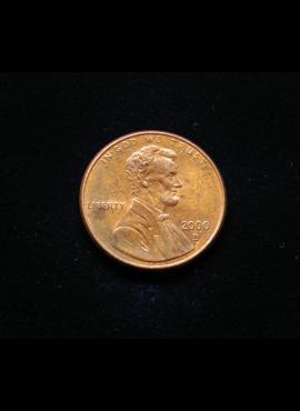 JAV, 1 centas 2000m-D