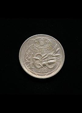 Italija, proginės 100 lirų 1995m