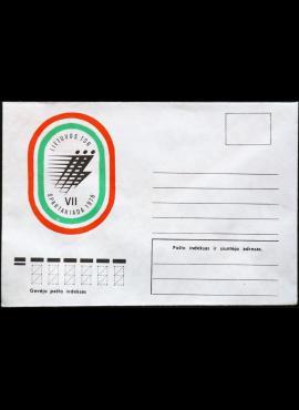LTSR ryšių ministerijos vokas Nr.: 1099 B