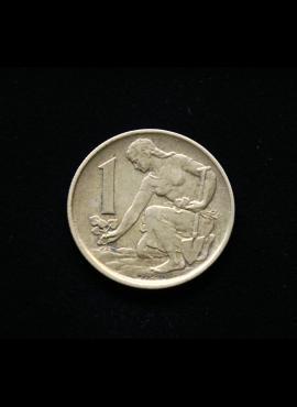 Čekoslovakija, 1 krona 1977m