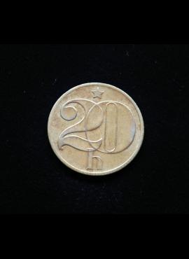 Čekoslovakija, 20 helerių 1983m