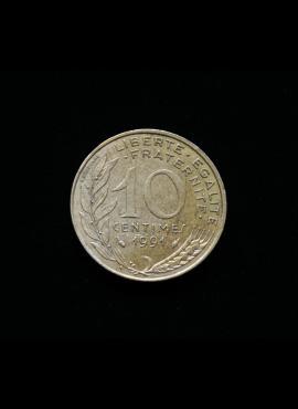 Prancūzija, 10 santimų 1991m A
