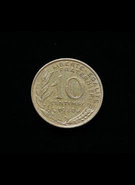 Prancūzija, 10 santimų 1980m A