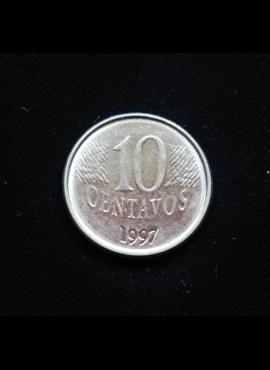 Brazilija, 10 sentavų, 1997m