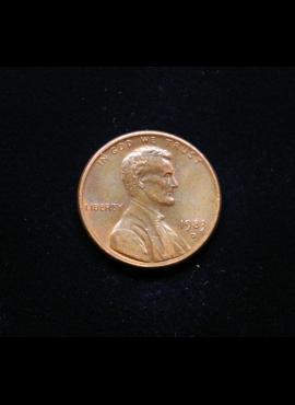 JAV, 1 centas 1983m-D
