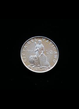 Vatikanas, 2 liros 1964m