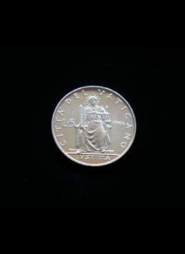 Vatikanas, 5 liros 1964m