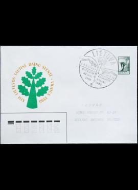 Lietuva, ženklinis vokas Nr.: C3 B