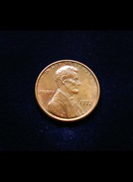 JAV, 1 centas 1972m