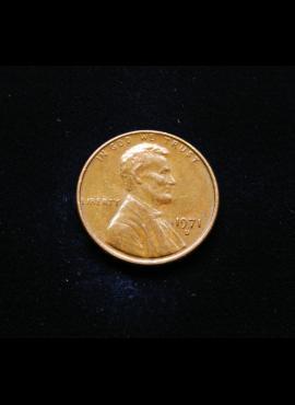 JAV, 1 centas 1971m-D