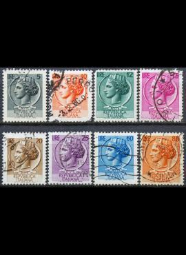 Italija ScNr 674, 676, 677, 678, 680, 681, 685, 686 Used(O)