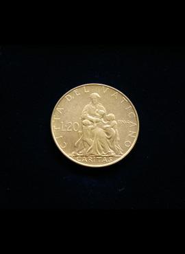 Vatikanas, 20 lirų 1964m