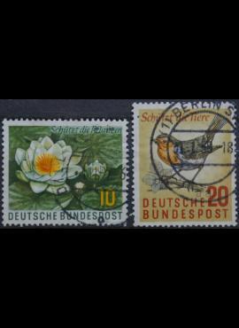Vokietija, pilna serija MiNr 274-275 Used(O)