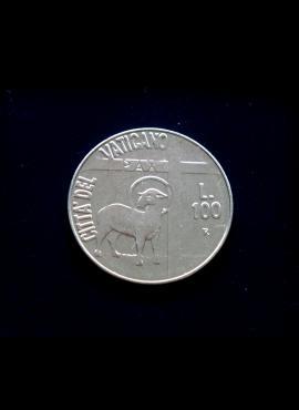 Vatikanas, 100 lirų 1984m