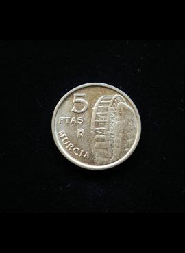 Ispanija, 5 pesetos 1999m