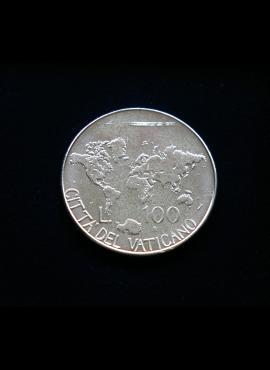 Vatikanas, 100 lirų 1985m
