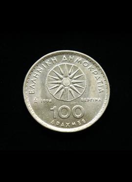 Graikija, 100 drachmų 1994m