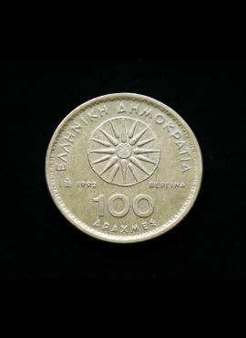 Graikija, 100 drachmų 1992m